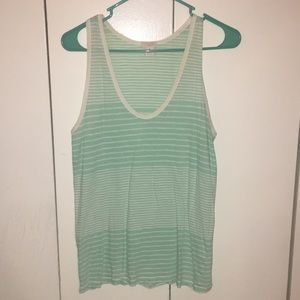 J. Crew striped tank top